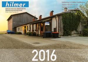 Werbefotografie als Kalender 2016