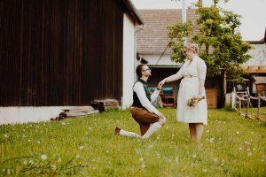 Hochzeitfotos Brautpaar in Schwabhausen