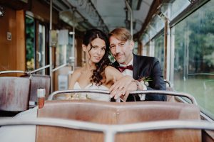 Brautpaar Portrait Waldhaus zur alten Tram